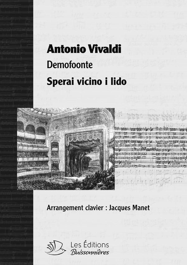 Vivaldi : Sperai vicino il lido (Demofoonte) pour chant et clavier
