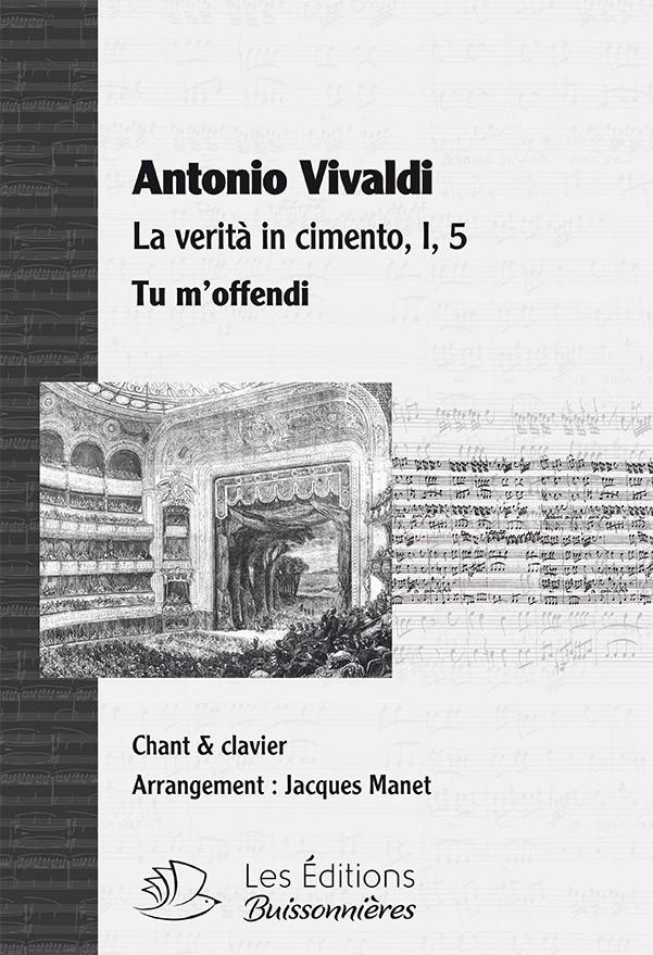 Vivaldi : Tu m'offendi (La verita in cimento RV 739), chant et clavier (piano)
