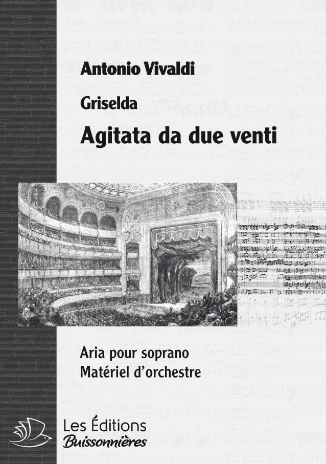 Vivaldi : Agitato da due venti, chant et orchestre