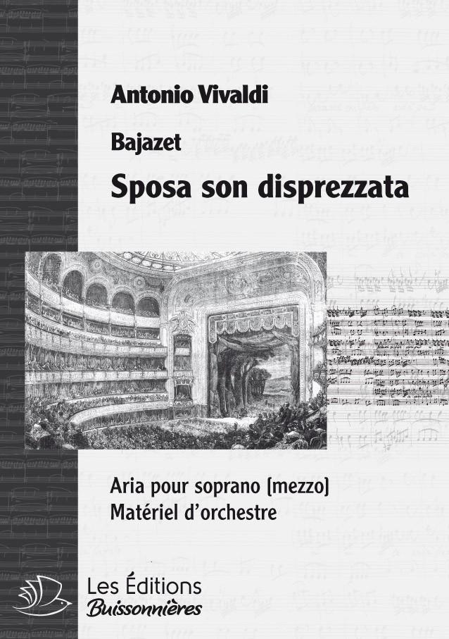 Vivaldi : Sposa son disprezzata (La Merope), chant et orchestre