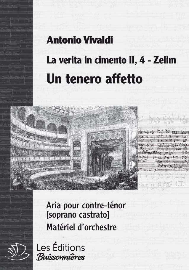 Un tenero affeto, Vivaldi (La verita in cimento, RV 739), chant et orchestre