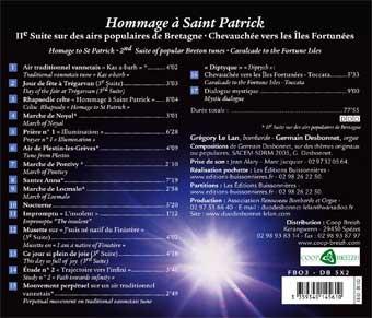 CD Hommage à saint Patrick