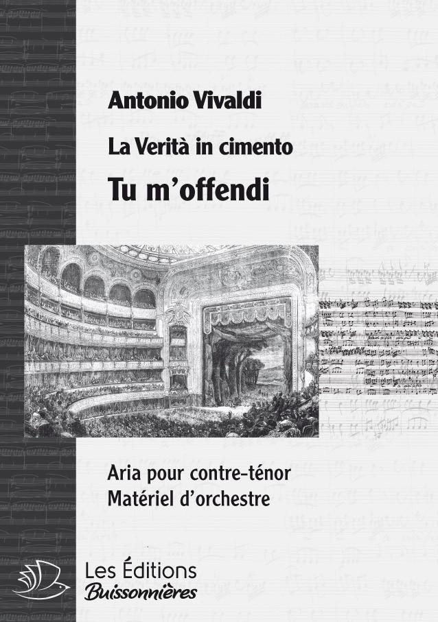 Vivaldi : Tu m'offendi (La Vertià in cimento), chant & orchestre