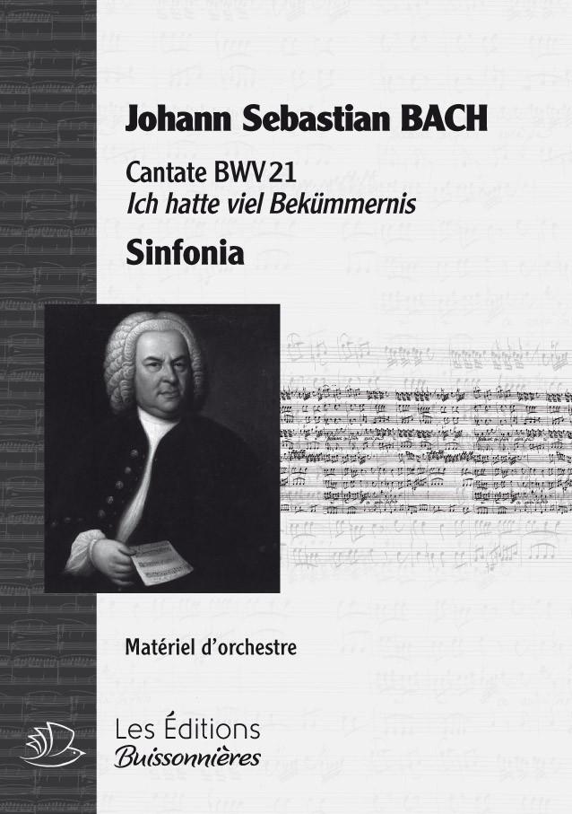 BACH : cantate BWV21, sinfonia