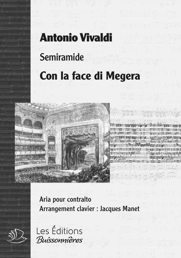 Vivaldi : Con la face di Megera (Semiramide), chant et clavier