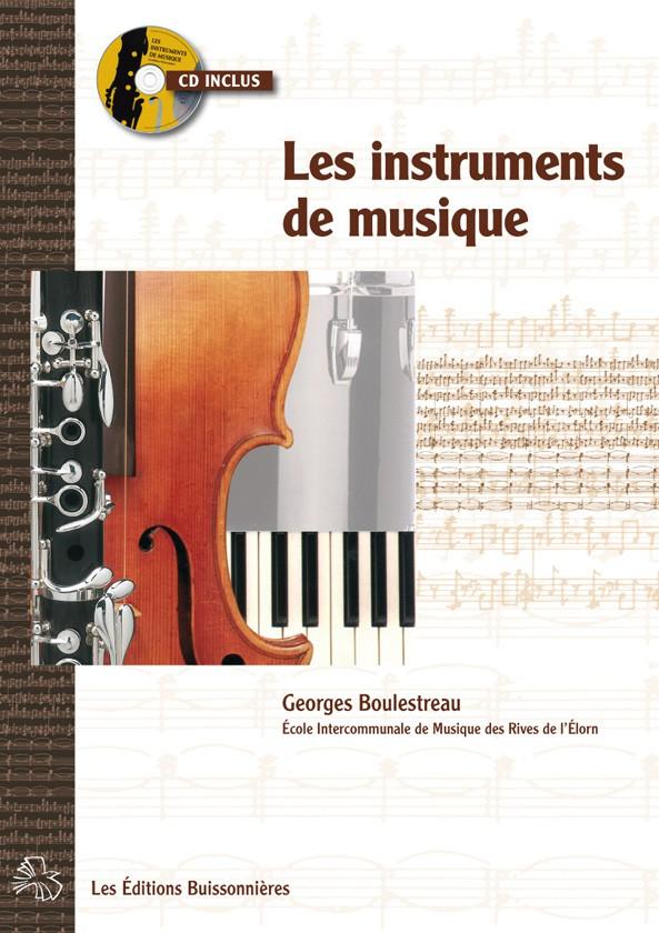 Souvent Les instruments de musique, livret avec CD - Scop Les Editions  YA72
