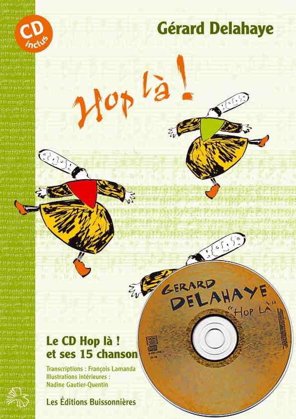Delahaye Hop là partitions de 14 chansons avec CD