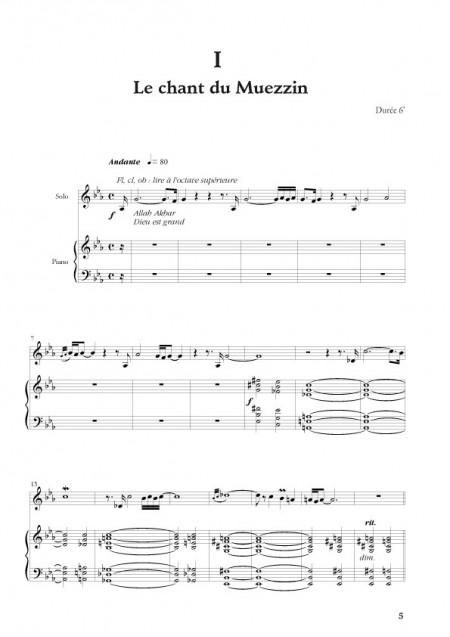 Germain Desbonnet : [I]Sonate Andalouse[/I] pour instrument à vent & piano