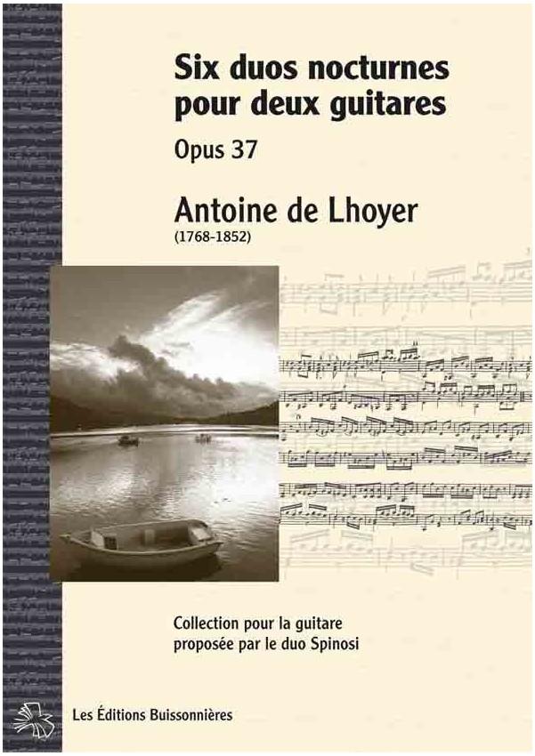 De Lhoyer [I]Six duos nocturnes pour deux guitares[/I]