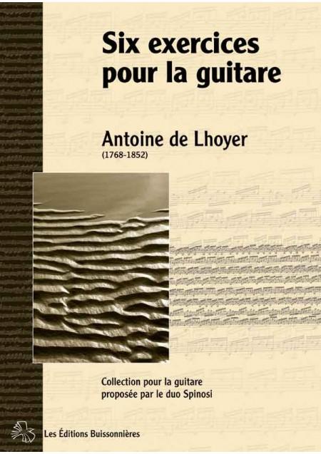 De Lhoyer [I]Six exercices pour la guitare[/I]