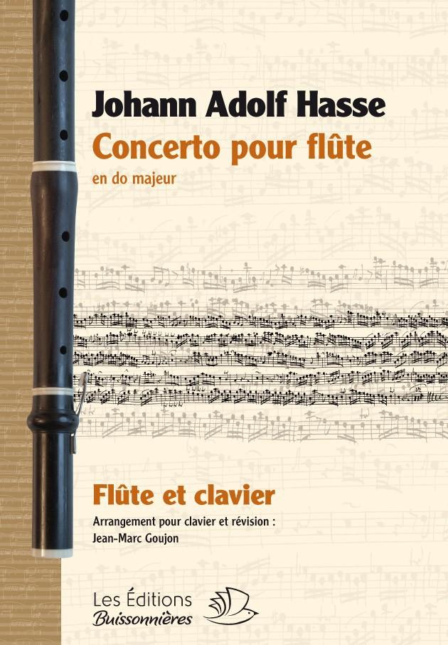 Johann Adolf HASSE (1699-1783)  : Concerto pour traverso & clavier