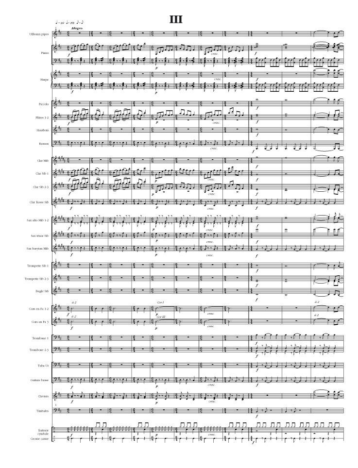 Lesvenan : Ballade pour Uillean pipes et orchestre d'harmonie