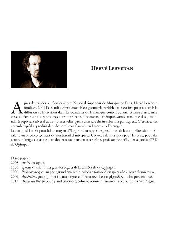 Hervé LESVENAN : La vita è la vita