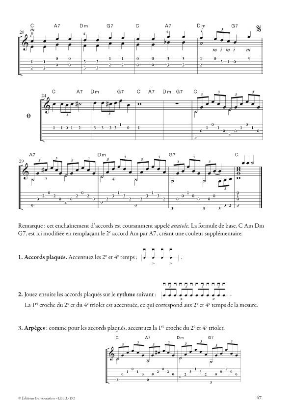 Débuter la guitare par les accords, Henri Le Bras