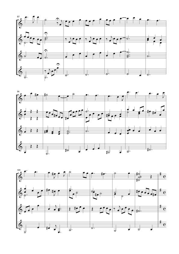 J.-M. Raymond, [I]Sérénade pour quatre guitares[/I]