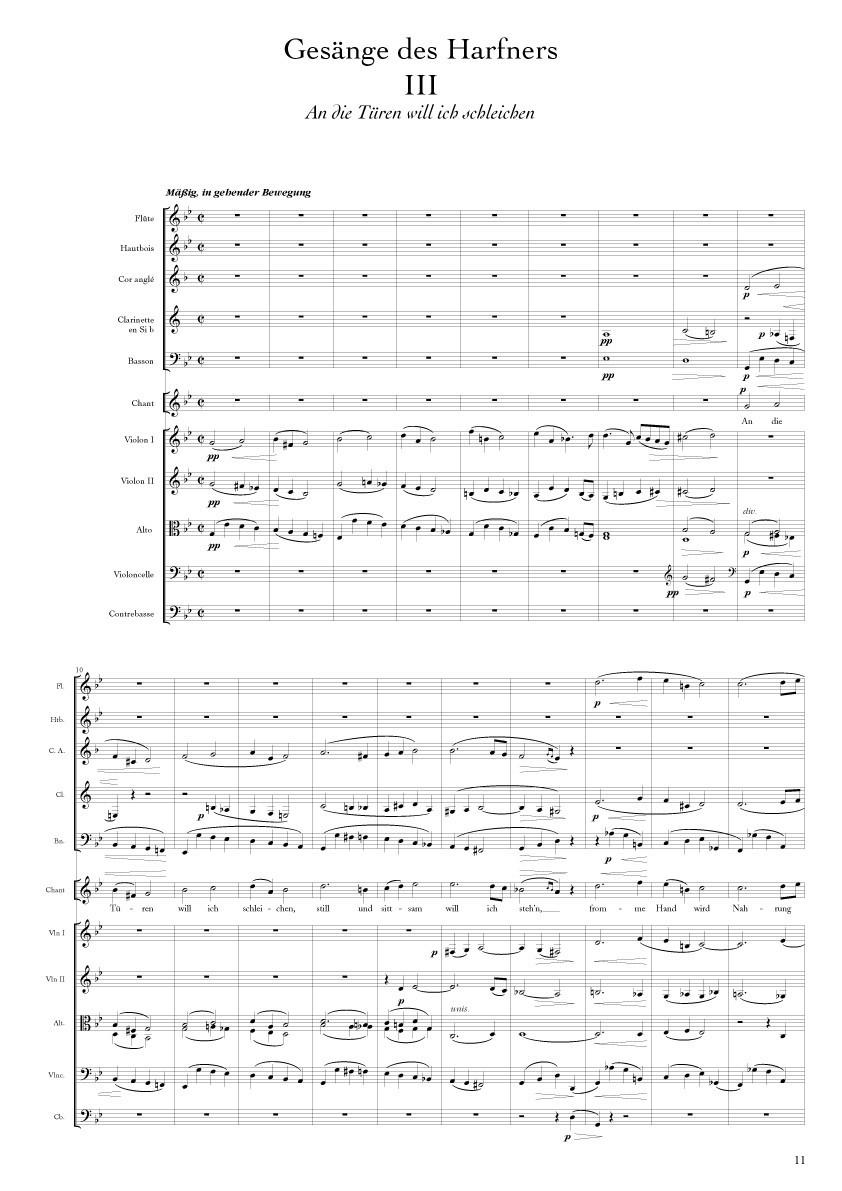 Franz Schubert : Lieder