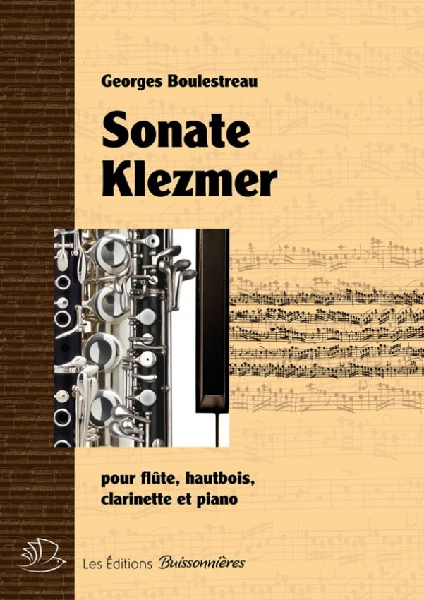 Sonate klezmer pour flûte, hautbois, clarinette et piano