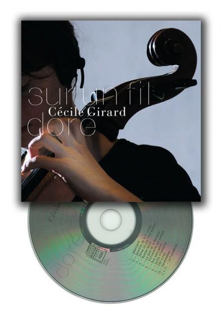 Sur un fil doré CD Cécile Girard