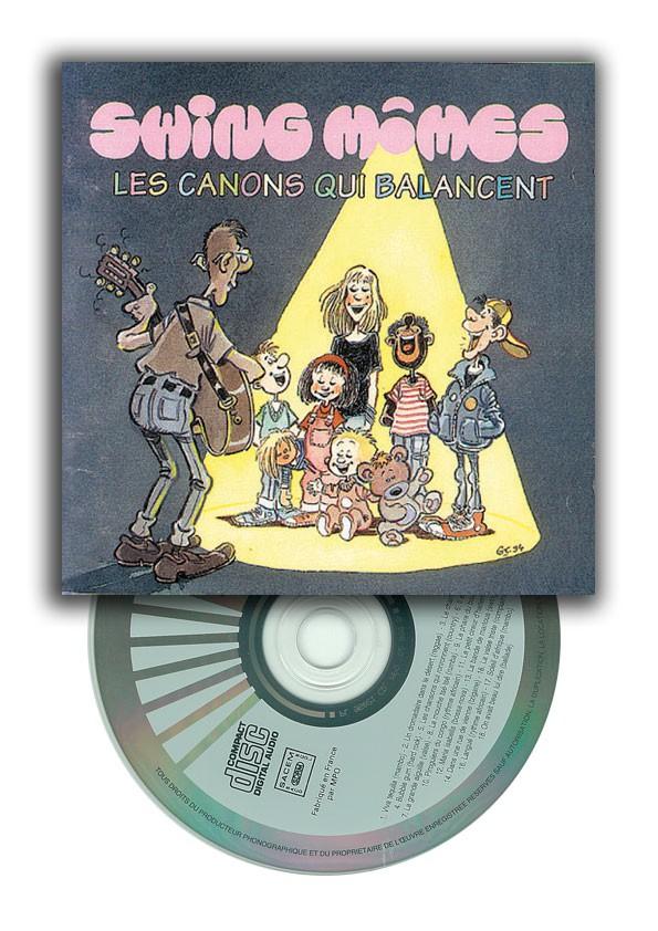 CD Les canons qui balancent, swing mômes