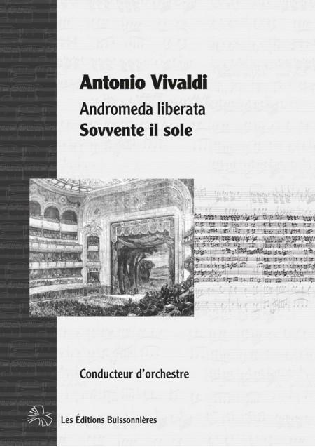 Vivaldi, Andromeda liberata, Perseo : Sovvente il sole, matériel d'orchestre