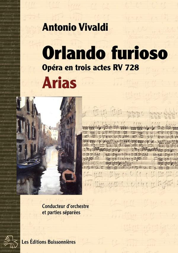 Vivaldi : Orlando furioso, RV 728, Arias