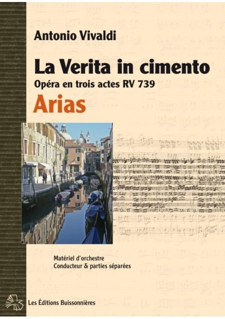 Vivaldi La Verita in Cimento, opéra RV 739, arias