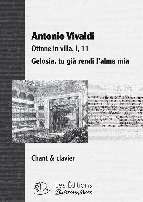 Vivaldi : Gelosia (Ottone in villa), chant et clavier (piano)