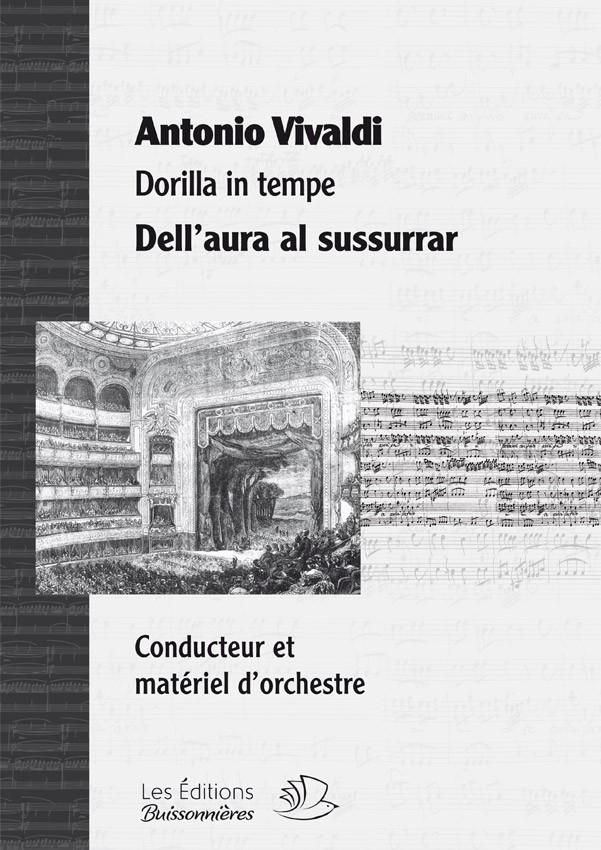 Vivaldi : Dell'aura al sussurrar (Dorilla in tempe) Matériel d'orchestre