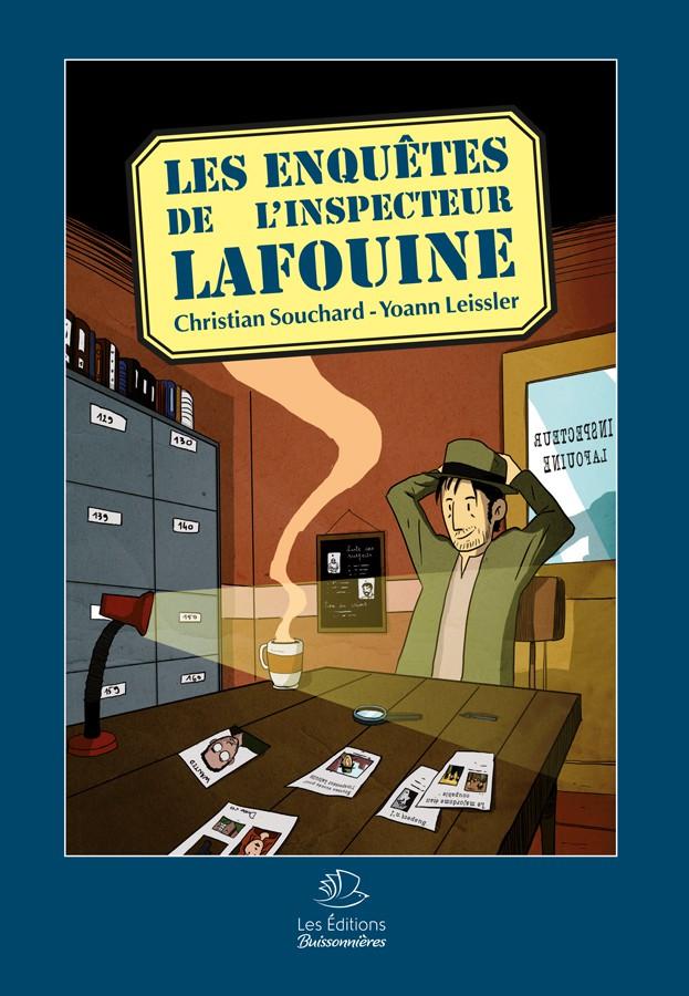 BD Les Enquêtes de l'Inspecteur Lafouine Volume 1
