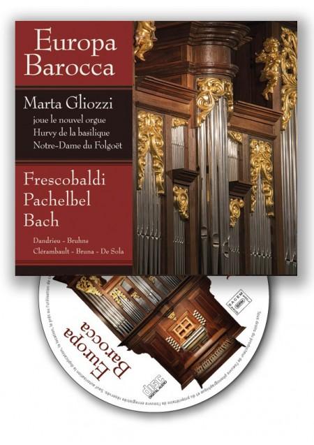 CD Europa Barocca, Marta Gliozzi, orgue