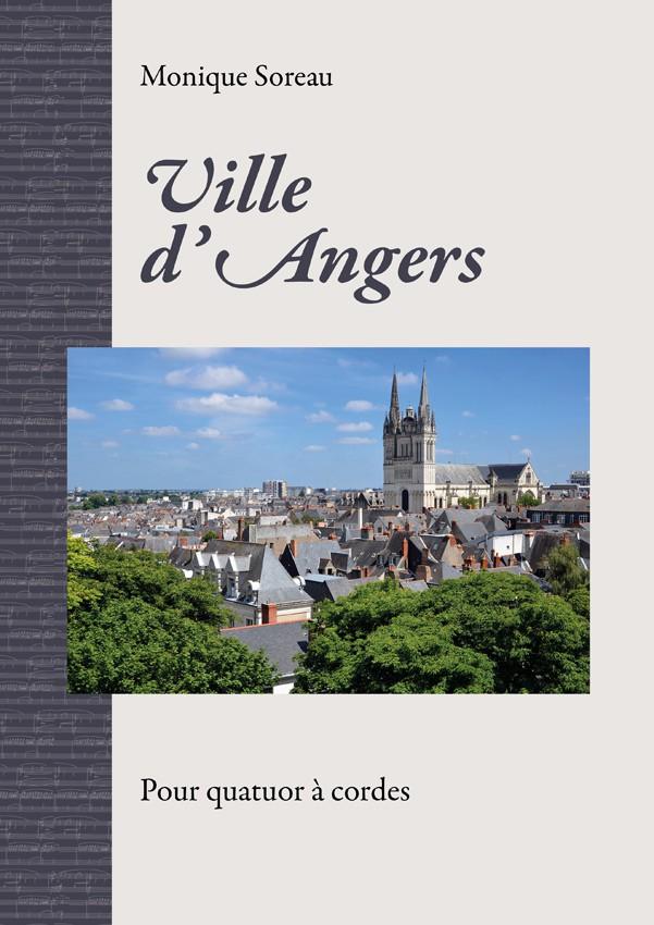 Monique Soreau, Ville d'Angers pour quatuor à cordes