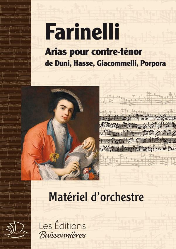 Farinelli : arias pour contre-ténor de Duni, Hasse, Giacomelli