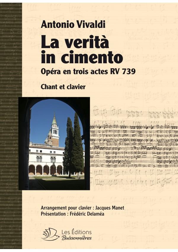 Vivaldi : La verita in cimento, réduction clavier