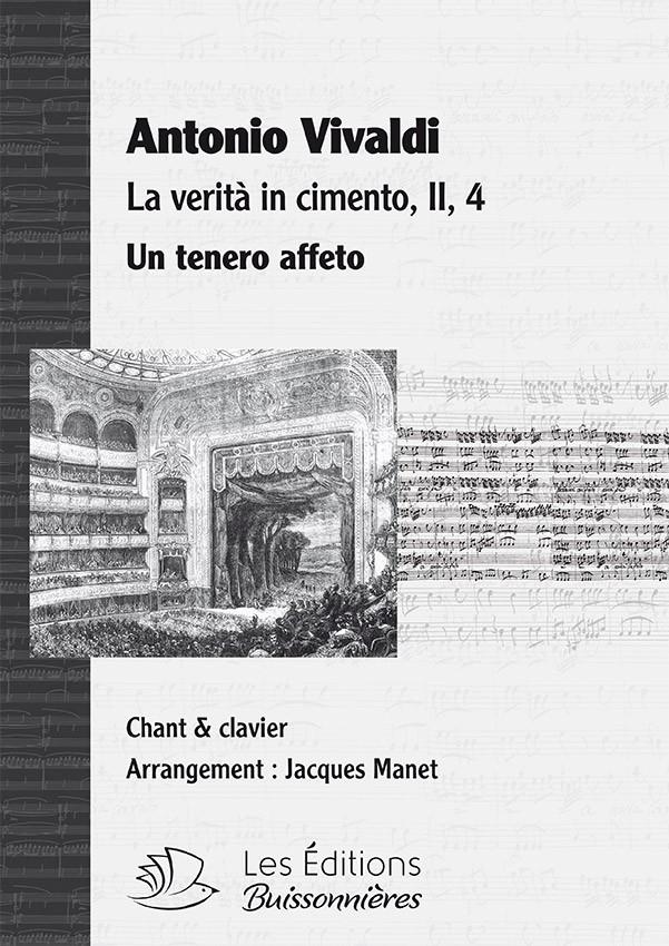 Vivaldi : Un tenero affetto (La verita in cimento, RV 739), chant et clavier (piano)