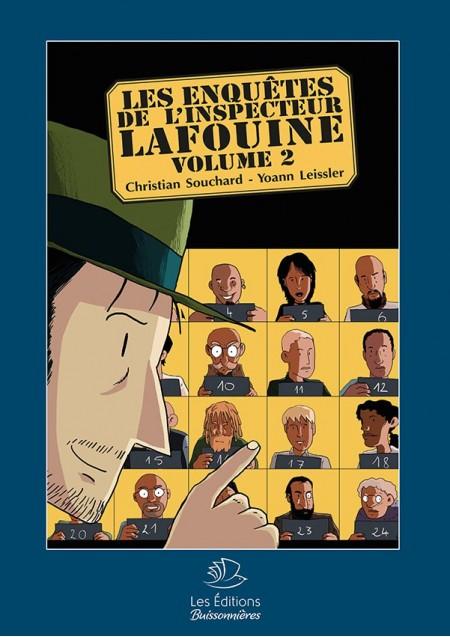 BD Les Enquêtes de l'Inspecteur Lafouine Vol. 2