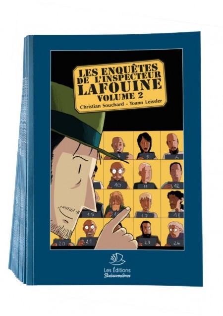 Lot de 12 + 1 BD Les Enquêtes de l'Inspecteur Lafouine volume 2