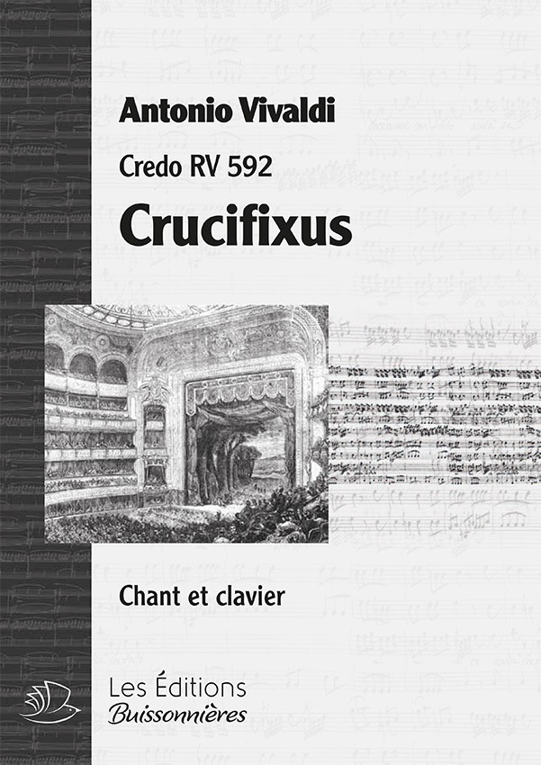 Vivaldi : Crucifixus, DUO  (Credo RV 592) réduction piano