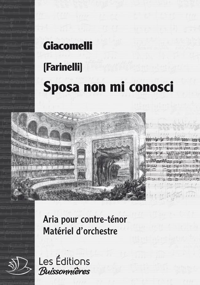 Giacomelli : Sposa non mi conosci (La Merope), chant et orchestre