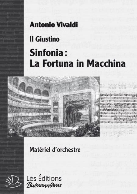Vivaldi : La Fortuna in Macchina, sinfonia