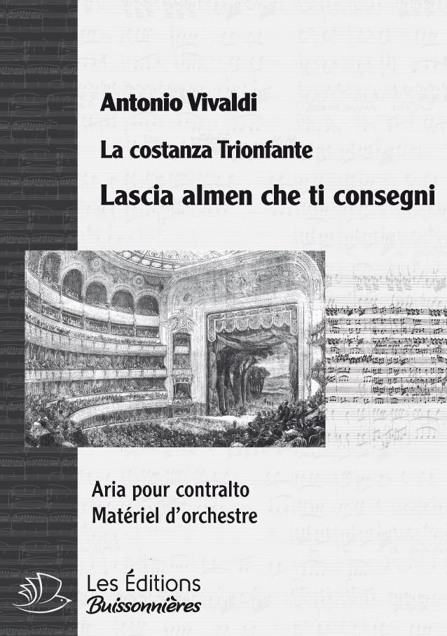 Vivaldi : Lascia almen che ti consegni, chant et orchestre