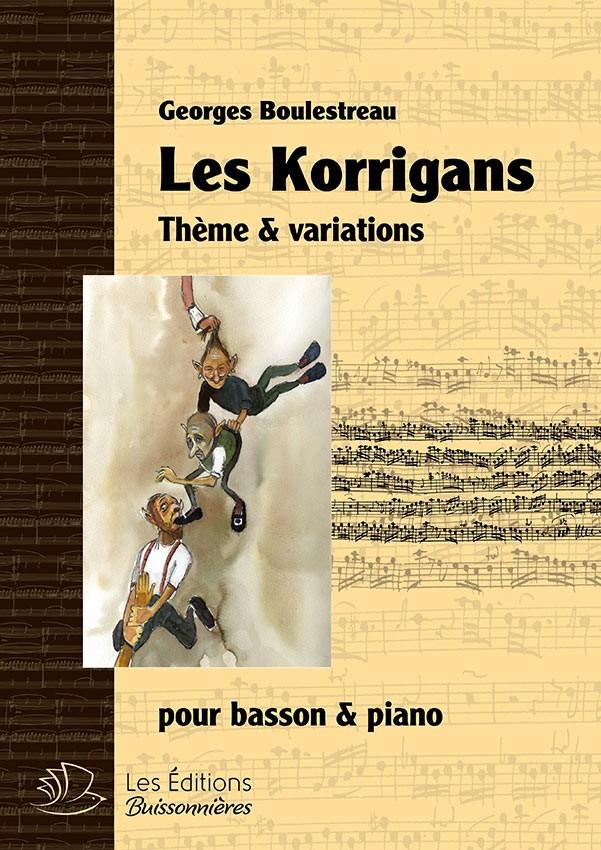 Les korrigans, pour basson & piano (Georges Boulestreau)