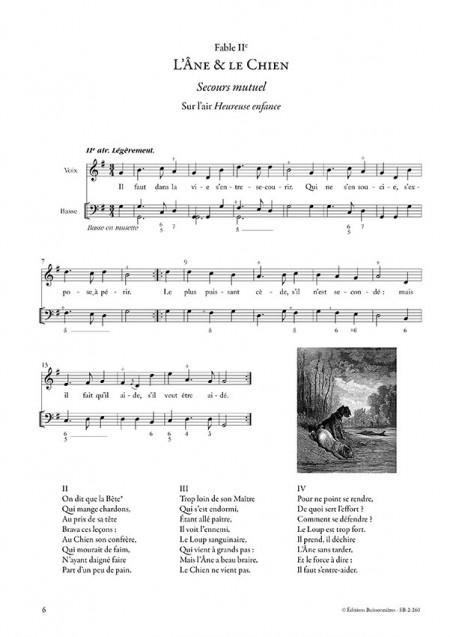 FABLES du 18e siècle (volume 2) sur de petits airs et vaudevilles choisis avec CD
