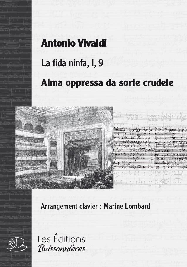 Vivaldi : alma oppressa, chant et piano