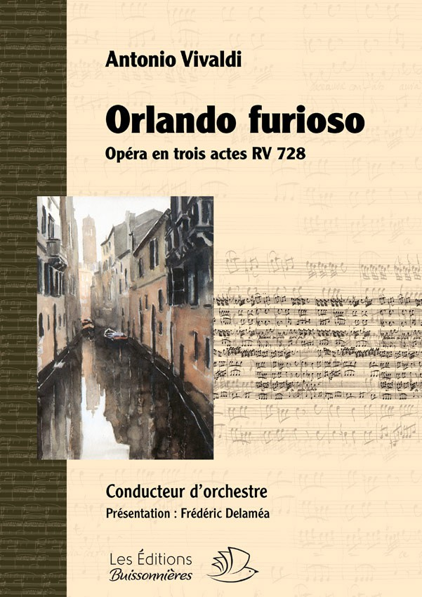 Vivaldi : Orlando furioso, RV 728, conducteur d'orchestre