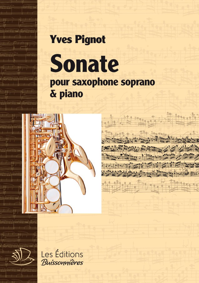 SONATE pour saxophone & piano (Yves Pignot)