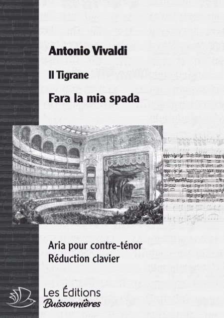 Vivaldi : Fara la mia spada, Réduction clavier