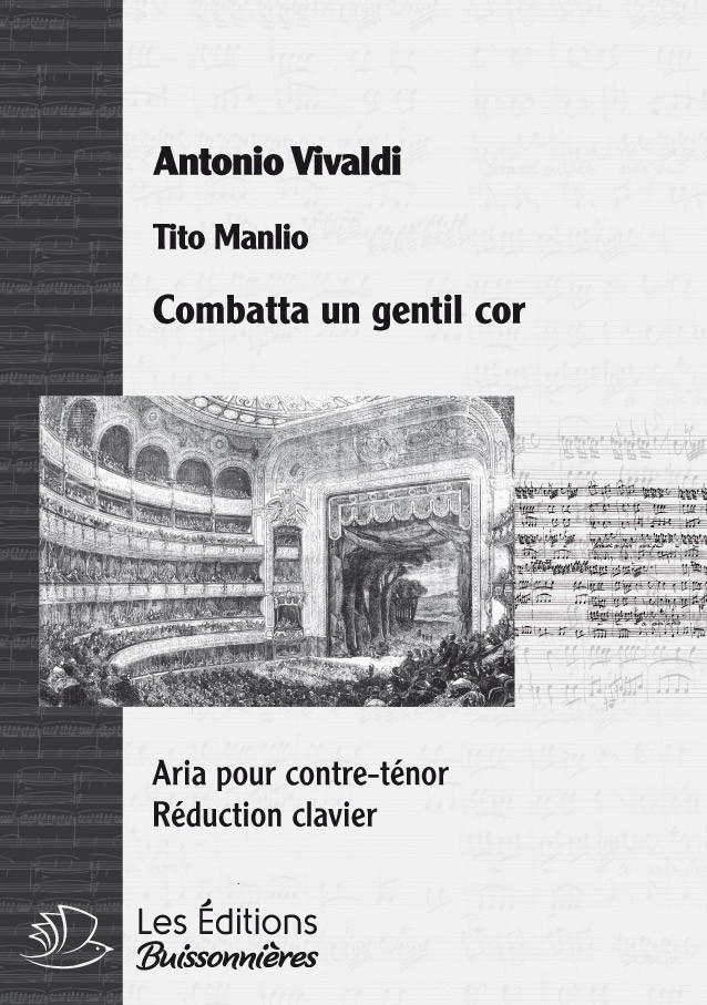 VIVALDI : Combatta un gentil cor, chant, trompette & clavier