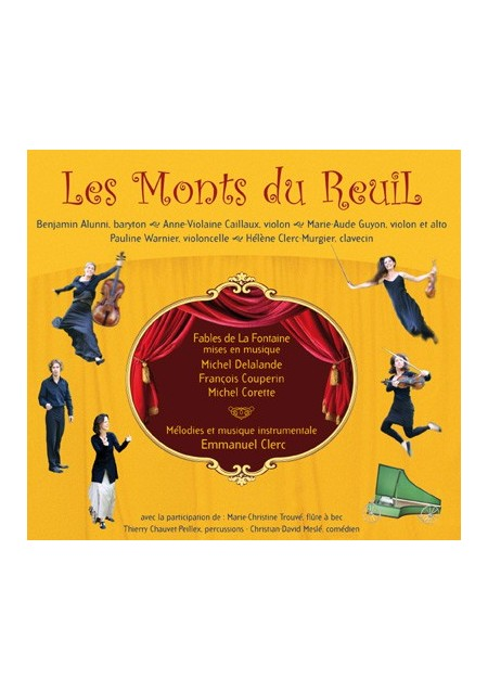 CD Les Monts du Reuil : Fables