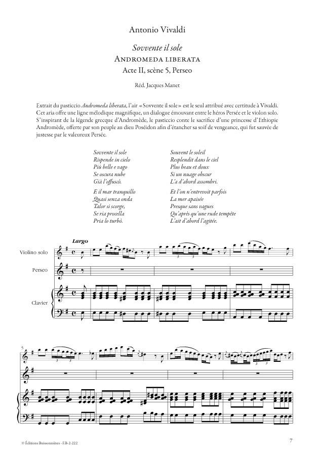 Vivaldi : Airs d'opéras pour contre-ténor