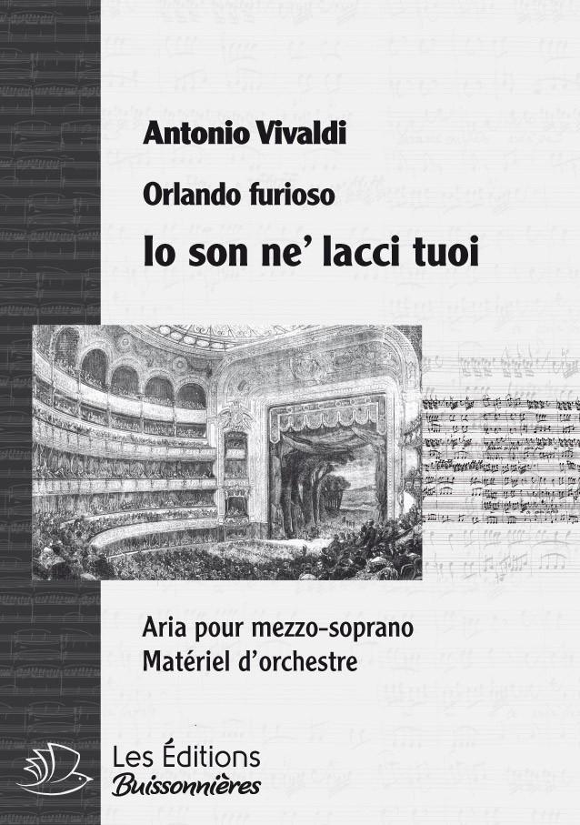 Vivaldi : Io son ne' lac tuoi (Orlando furioso), chant & orchestre